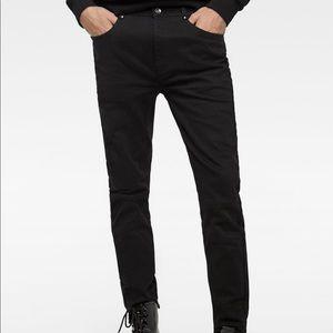 Zara slim fit black jeans